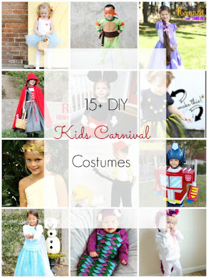 DIY Kids Carnival Costumes - Ioanna's Notebook