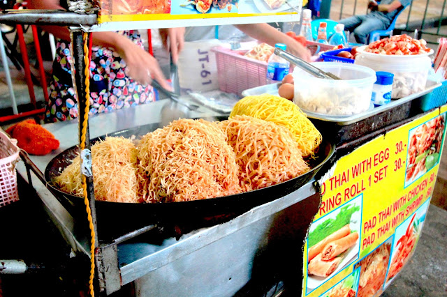 Noodle Markets  Khao San Road Bangkok Thailand Travel Blogger Review What to See Photography