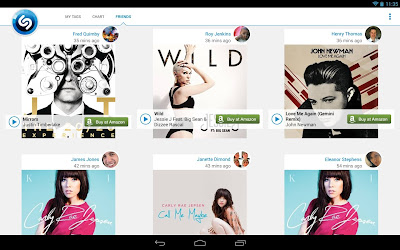 Shazam for Android Tablet