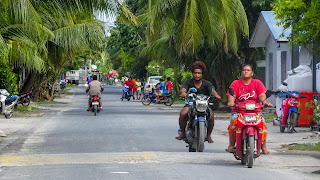 Its possible to rent motorbike at several places in Funafuti