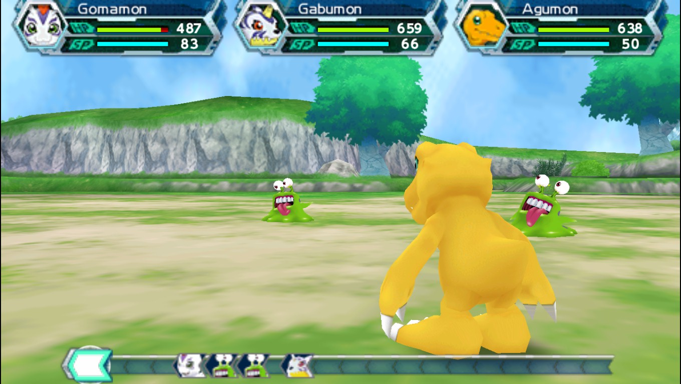 Digimon Adventure PSP Screenshot 3