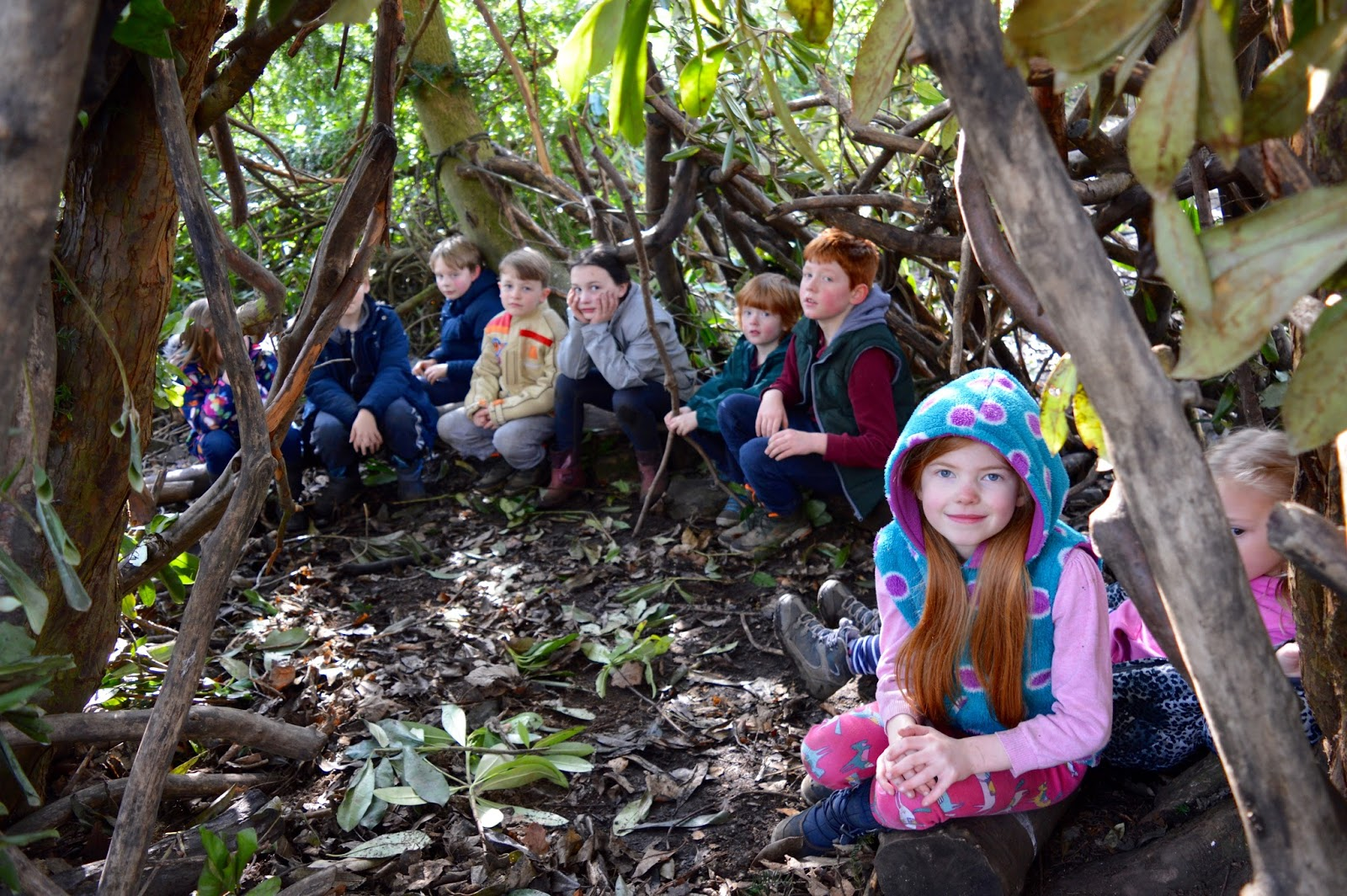 Beamish Wild | School Holiday Club & Activities in County Durham | North East England - kids in their den