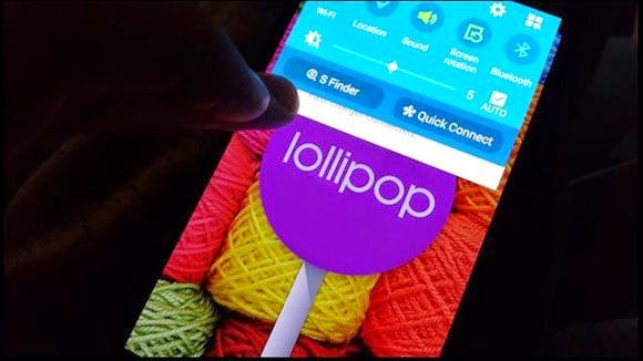 Samsung Galaxy Note 4 Lollipop