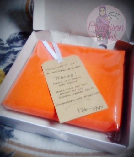 Instant Shawl Magic, Blog Bingkisan Hati