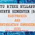 S4 Syllabus Electronics and Communication Engineering [ECE]
