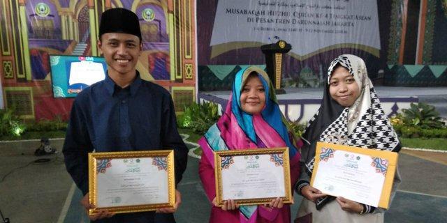 Royu Nahriya, Hafidzah Indonesia Terbaik III se-ASEAN