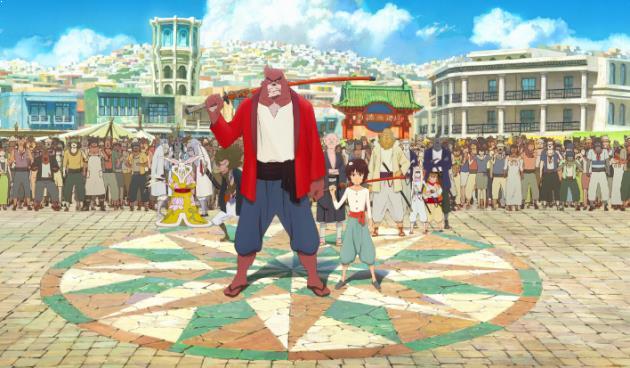 The Boy and The Beast ( Bakemono no Ko ) Daftar Anime Isekai Terbaik ( Tokoh Utama Masuk Dunia Lain )