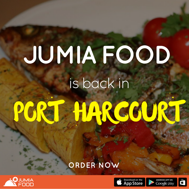 Jumia Food is live in Port Harcourt!