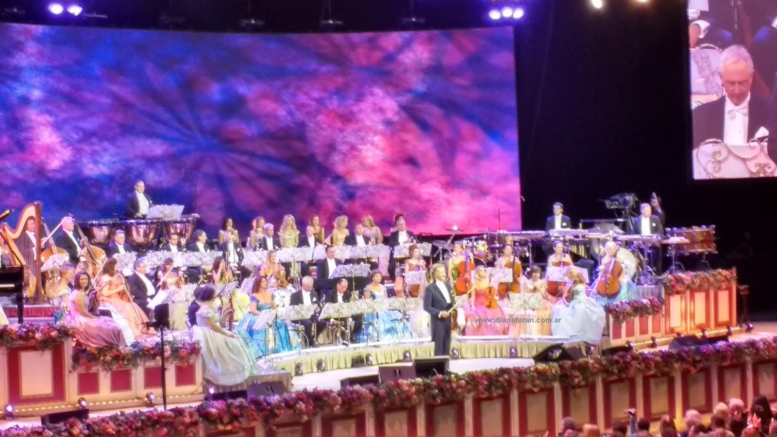 Diana teran andr rieu y su orquesta en argentina 2016 for Espectaculos argentina 2016