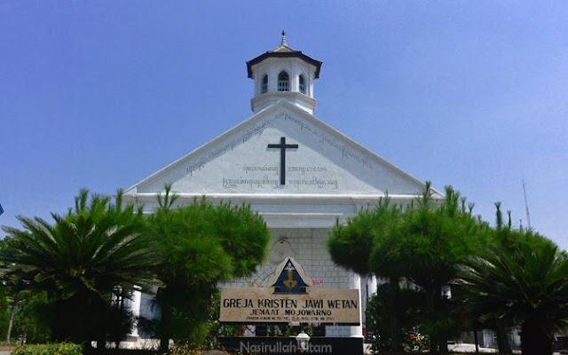 Gereja Kristen Jawi Wetan di Jombang