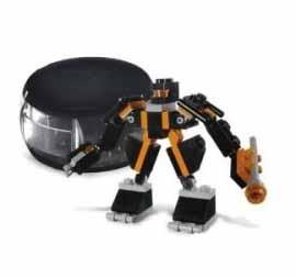 Black Robot Pod - Lego 4335