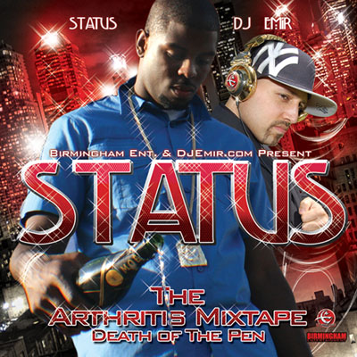 Status The Arthritis Mixtape Cover Design