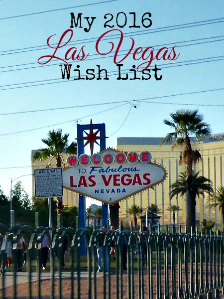 las vegas wish list