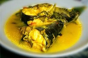 Gulai ikan Patin, makanan khas Jambi