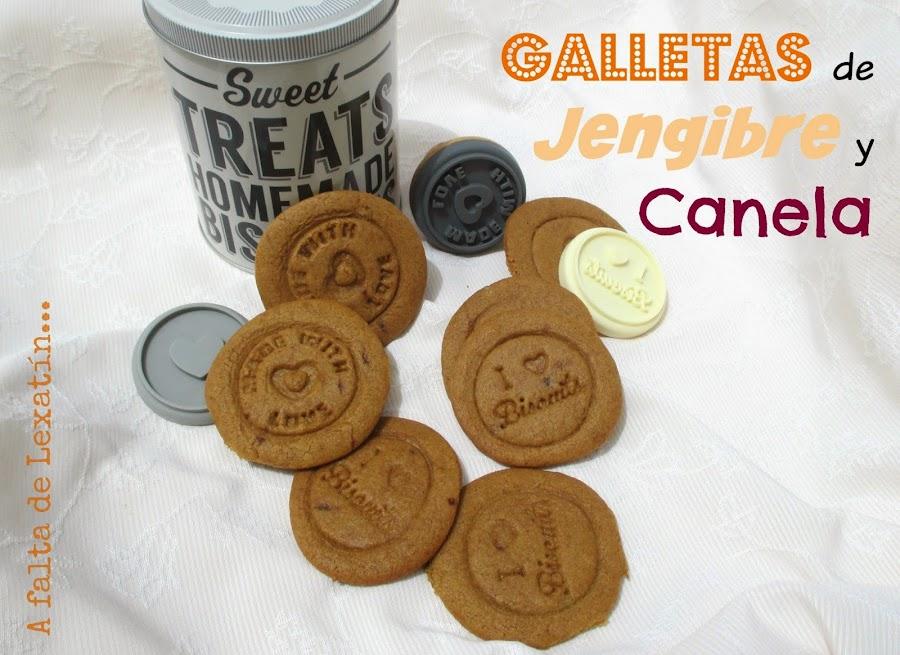 Galletas de Jengibre y Canela