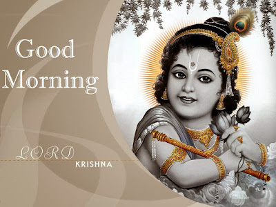 Good Morning With Smile and Shree Krishna