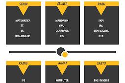 Download Design Template Mata pelajaran Keren