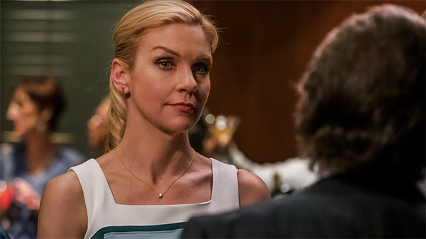 screenshot of Rhea Seehorn as Kim Wexler in Better Call Saul