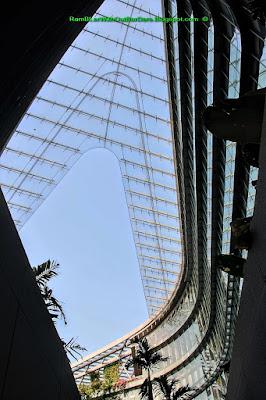 Courtyard, Sandcrawler Building, One-North, Singapore