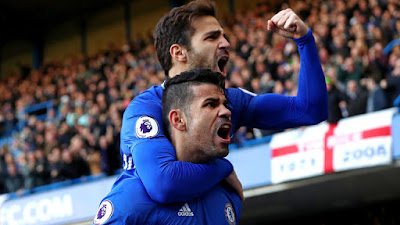 Chelsea exit a shame for Diego Costa says Cesc Fabregas