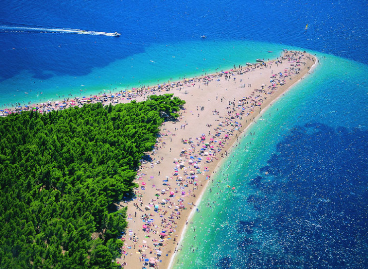 Top 10 Wonderful Destinations in Croatia - Bathe in Golden Horn