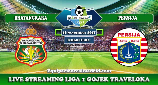 live streaming bhayangkara vs persija 10 november 2017