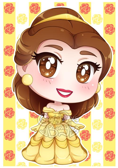 princess belle chibi công chúa người đẹp và quái vật 2
