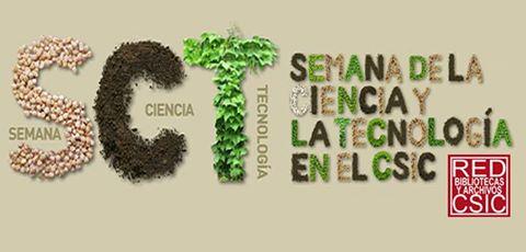 Semana de la Ciencia en las bibliotecas del CSIC 2016.