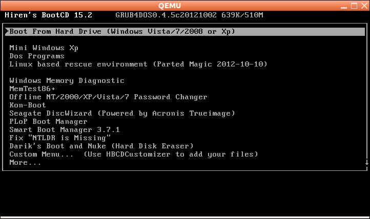 pts blog: How to run Windows XP on Linux using QEMU and KVM