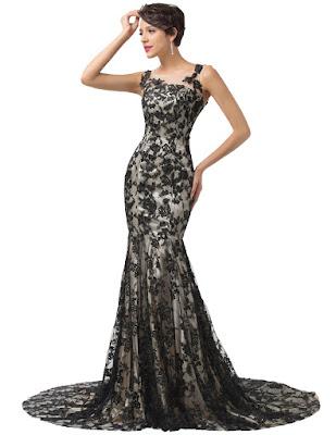 Vestidos de noche largos elegantes
