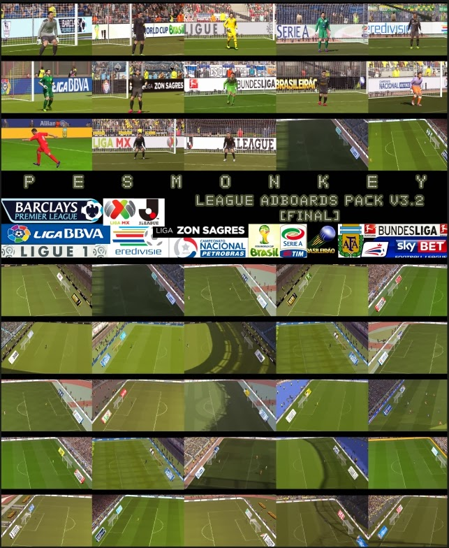 PES 2014 League Adboards Pack v3 2 [final] by Pesmonkey - PES Editor