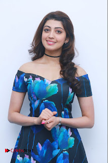 Actress Praneetha Latest Stills in Floral Short Dress at Enakku Vaaitha Adimaigal Press Meet  0010.jpg
