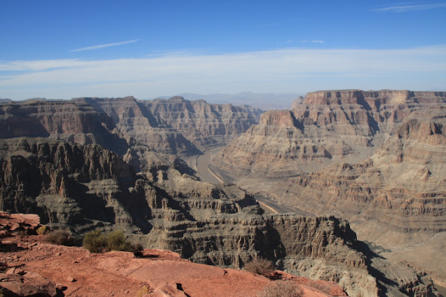Fiume Colorado dal Guano Point - Grand Canyon West