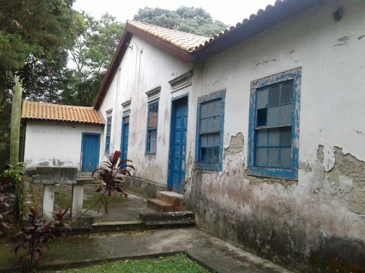Detalhe externo do Casarão Afonso Sardinha. Foto: Robson Maziero
