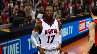 NBA 2K14 Dennis Schröder Cyberface Patch
