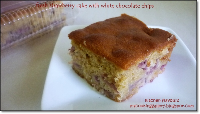 Zoe S White Chocolate Strawberry Cake Recipe