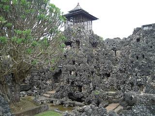 ornamen karang di Keraton Kesepuhan Cirebon