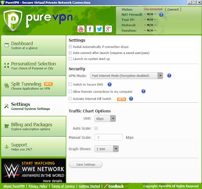 Spesifikasi dan Kecepatan VPN Premium Terbaik Dengan Server Anti Limit di Pure VPN