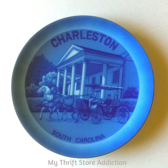 Charleston South Carolina collectible plate