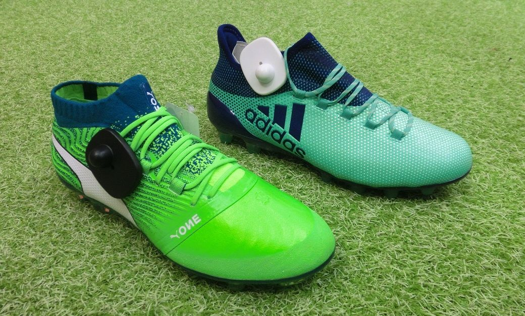 df48e8b6e The Adidas X 18.1 and the Puma One 18.1 do not only share parts of the name  but also feature similar colors (Adidas X - 'Aero Green' | Puma One -  'Green ...