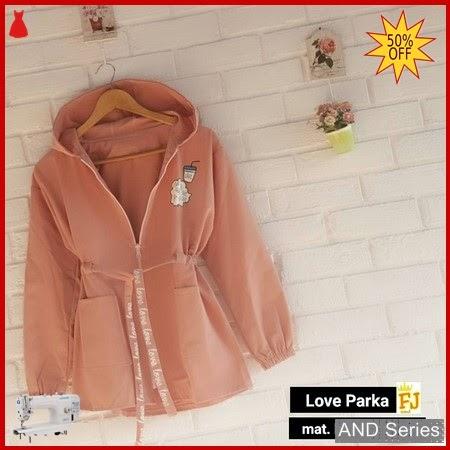 AND168 Jaket Wanita Love Parka Jacket BMGShop