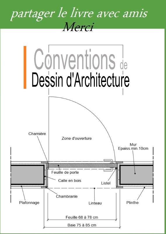 conventions de dessin d 39 architecture pdf book batiment. Black Bedroom Furniture Sets. Home Design Ideas