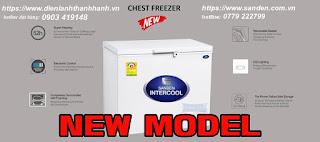 thông số kỹ thuật tủ đông sanden intercool SNH-0155S