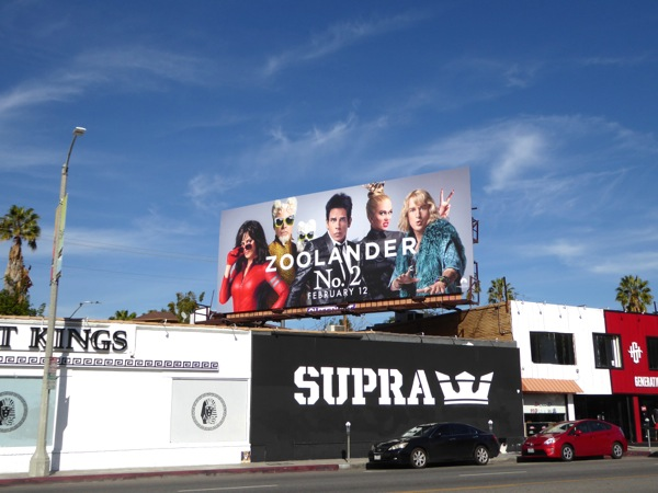 Zoolander 2 film billboard