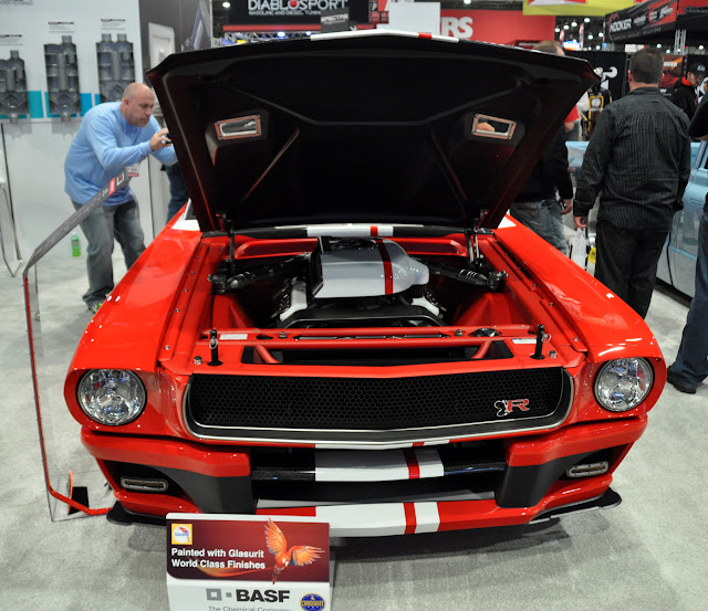 just a car guy ring brothers mustangs at sema this year. Black Bedroom Furniture Sets. Home Design Ideas