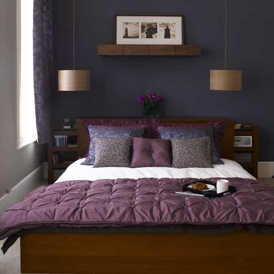 Purple Room: Bedroom Design Decor: Dark Purple Bedrooms Idea