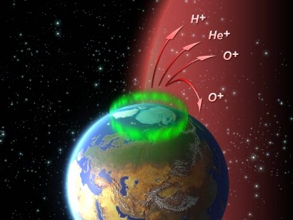 atmosfera Tierra hidrogeno helio