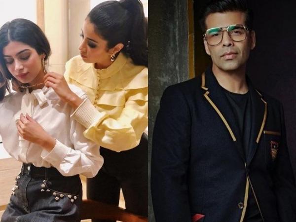 Karan Johar Confirms Khushi Kapoor to Make an Entry into the Biz World