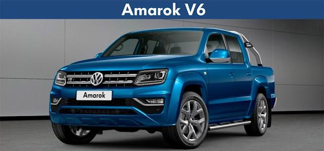 Nova Amarok V6 2018 - preço