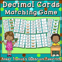 https://www.teacherspayteachers.com/Product/Decimals-Matching-Game-1173775